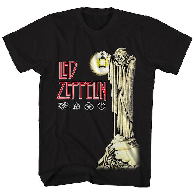 Led Zeppelin T-Shirt | IV Hermit & ZOSO Logos Led Zeppelin T-Shirt