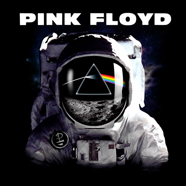 Pink Floyd T-Shirt | Dark Side Of The Moon Astronaut Pink Floyd T-Shirt
