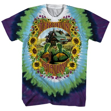 Grateful Dead T-Shirt | Terrapin Station Album Art Tie Dye Grateful Dead Shirt