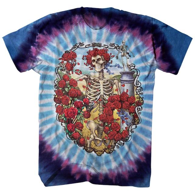 Grateful Dead T-Shirt   Bertha 30 Years Celebration Tie Dye Grateful Dead T-Shirt