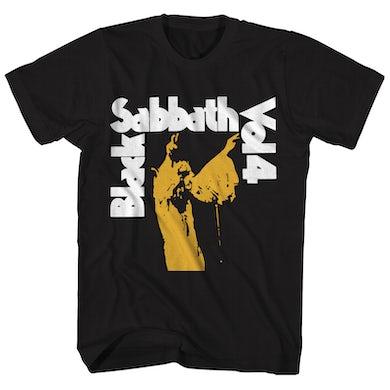 Black Sabbath T-Shirt | Vol. 4 Album Art Black Sabbath Shirt