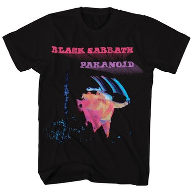 Black Sabbath T-Shirt | Paranoid Album Art Black Sabbath T-Shirt