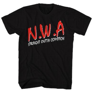 N.W.A. T-Shirt | Classic Straight Outta Compton Logo N.W.A. T-Shirt