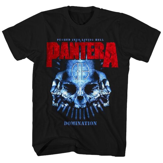 Pantera T-Shirt | Distressed Domination Pantera T-Shirt