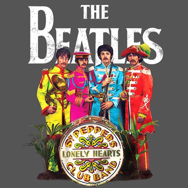 The Beatles T-Shirt   Sgt. Pepper's Band Portrait The Beatles T-Shirt