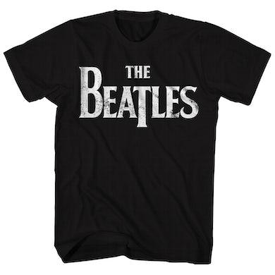 The Beatles T-Shirt | Classic Distressed Logo The Beatles T-Shirt