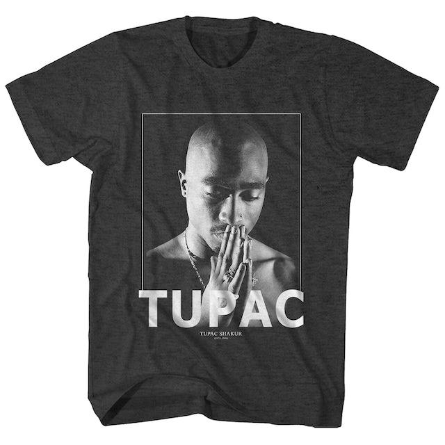 Tupac T-Shirt | Praying In Memory Of Tupac T-Shirt