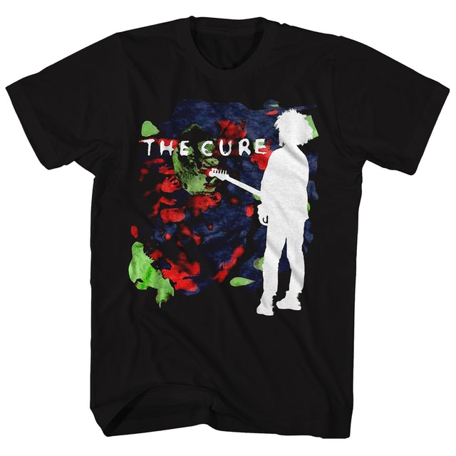 The Cure T-Shirt   Boys Don't Cry Album Art The Cure T-Shirt