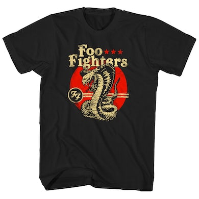 Foo Fighters T-Shirt | Cobra Logo Foo Fighters Shirt