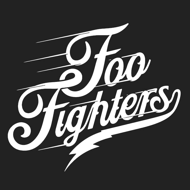 Foo Fighters T-Shirt | Official Script Logo Foo Fighters Shirt