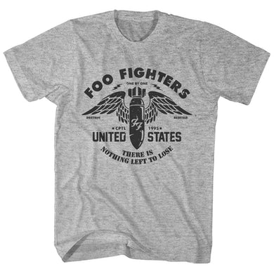 384d9e32a31a Foo Fighters T-Shirt | Nothing Left To Lose Foo Fighters T-Shirt ...