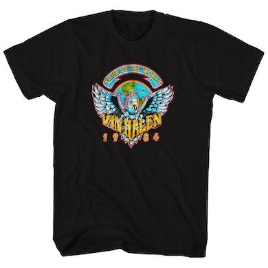 Van Halen T-Shirt | '84 World Tour Van Halen Shirt (Reissue)