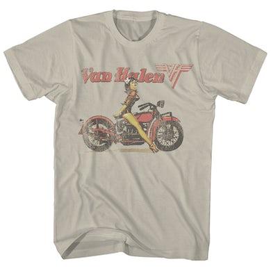 Van Halen T-Shirt | Pinup Biker Van Halen Shirt