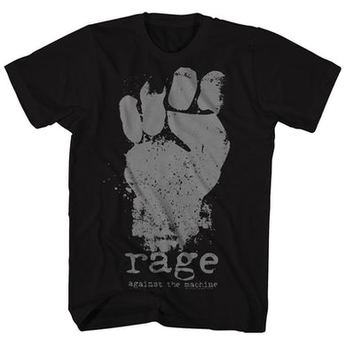 Rage Against The Machine T-Shirt | Fist Logo Rage Against The Machine Shirt
