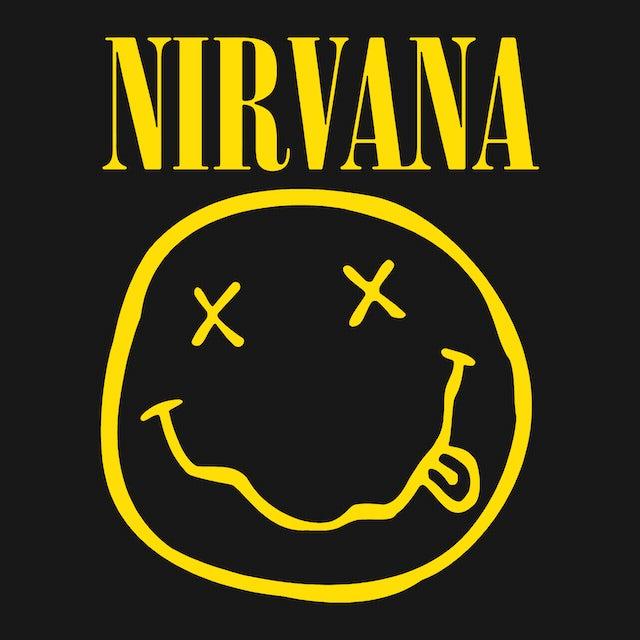 Nirvana T-Shirt | Official Smiley Face Logo Nirvana Shirt