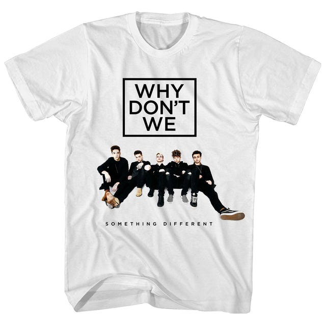 Why Don't We T-Shirt | Something Different Tour Why Don't We T-Shirt
