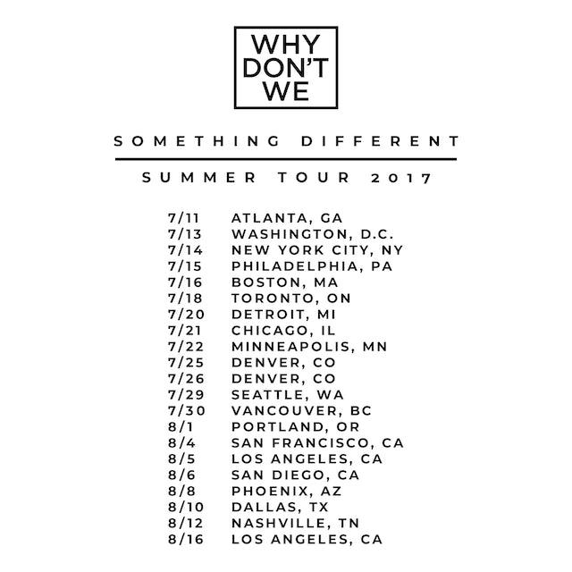 Why Don't We Raglan   Something Different Tour Why Don't We Raglan