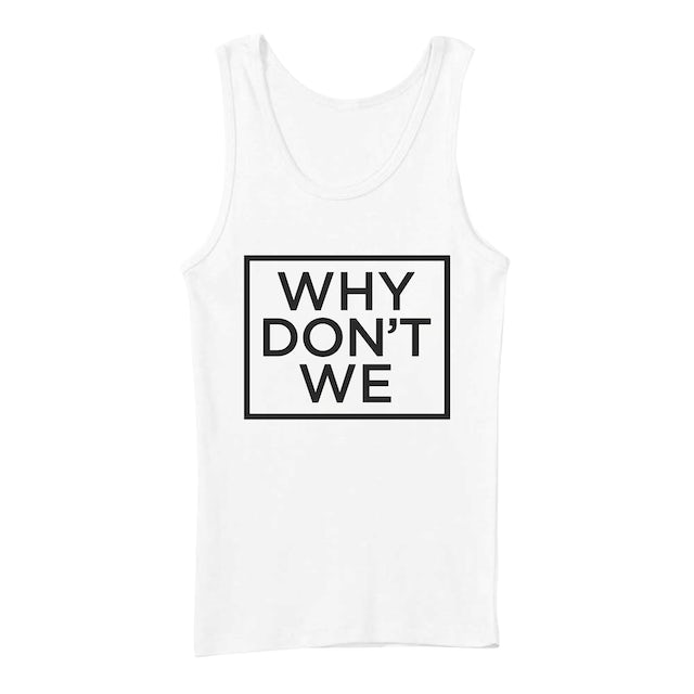 Why Don't We Women's Tank Top | Official Logo Why Don't We Ribbed Women's Tank Top