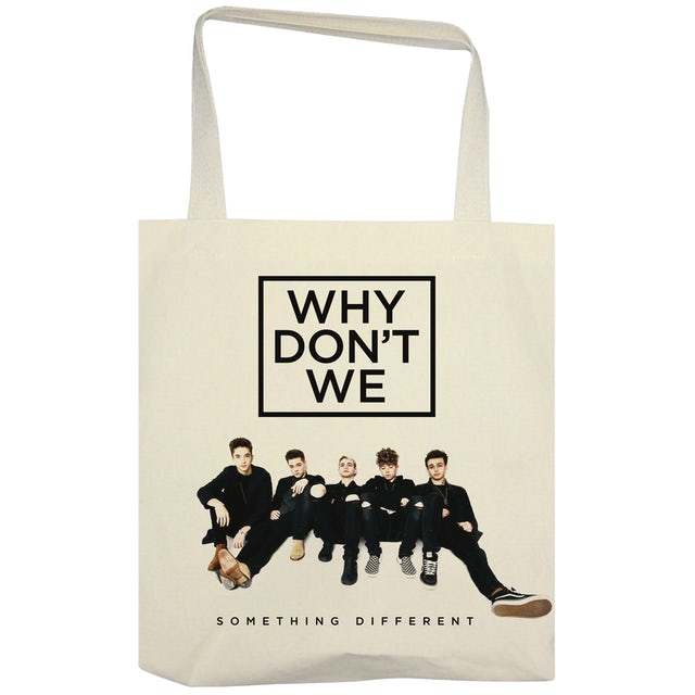 Why Don't We Tote Bag | Something Different Tour Why Don't We Tote Bag