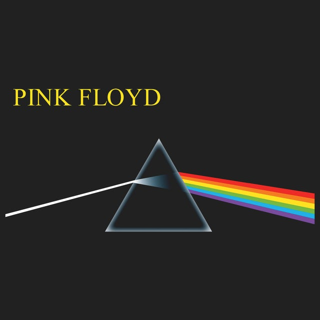 Pink Floyd Long Sleeve Shirt | Dark Side Of The Moon Album Art Pink Floyd Long Sleeve Shirt