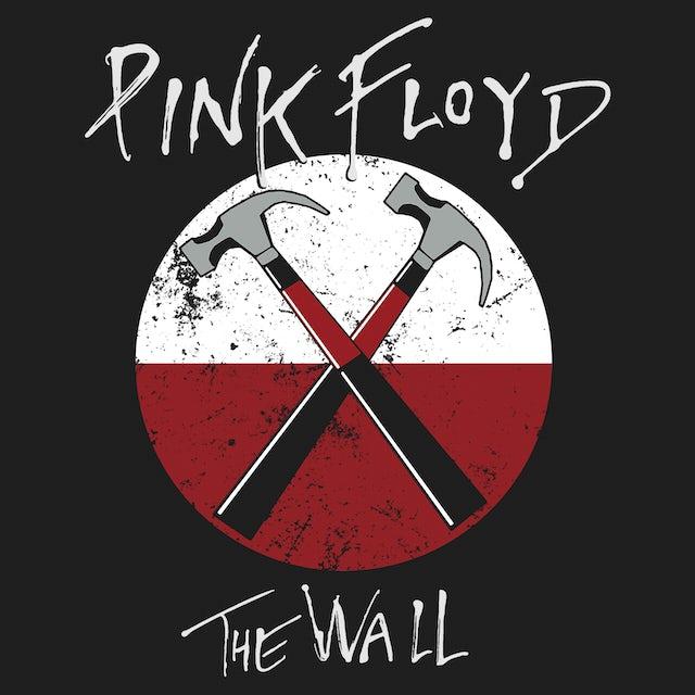 Pink Floyd Long Sleeve Shirt | The Wall Hammers Logo Pink Floyd Long Sleeve Shirt