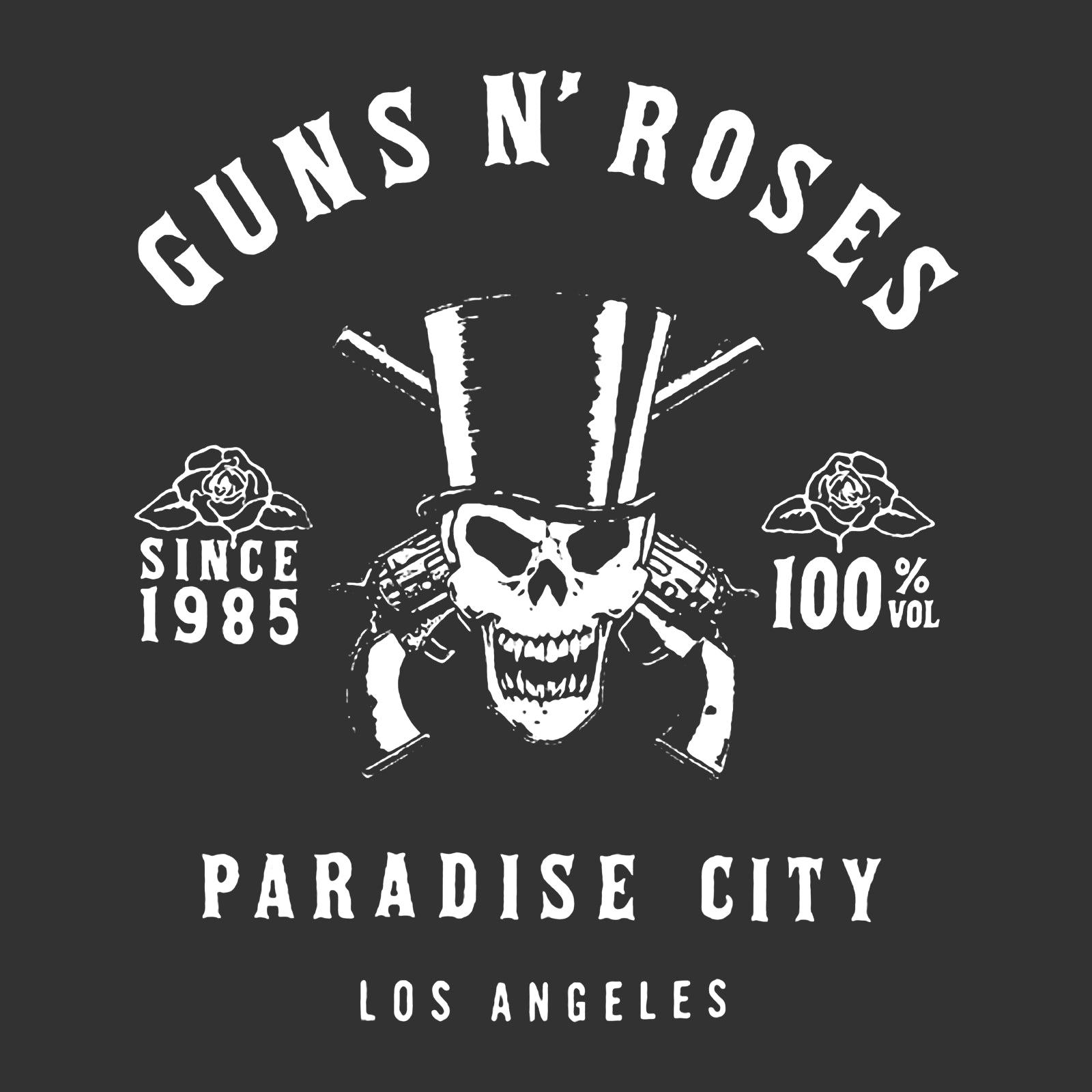 OFFICIAL LICENSED PARADISE CITY MENS VEST T SHIRT GUNS N ROSES GNR SLASH
