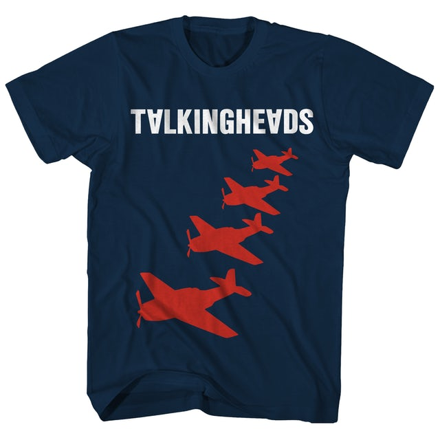 Talking Heads T-Shirt | Remain In Light Planes Art Talking Heads T-Shirt