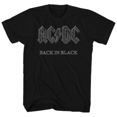 AC/DC T-Shirt | Classic Back In Black AC/DC T-Shirt