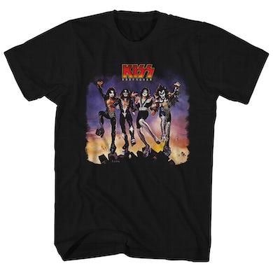 KISS T-Shirt | Destroyer Album Art KISS Shirt