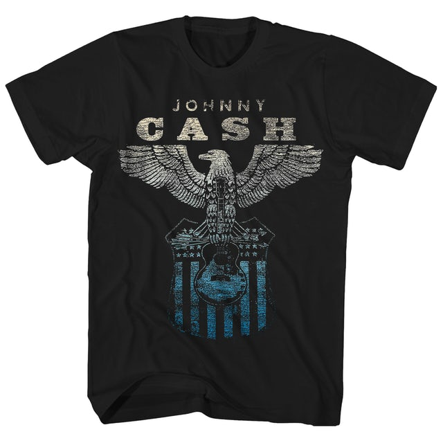 Johnny Cash T-Shirt | Eagle Emblem Johnny Cash T-Shirt