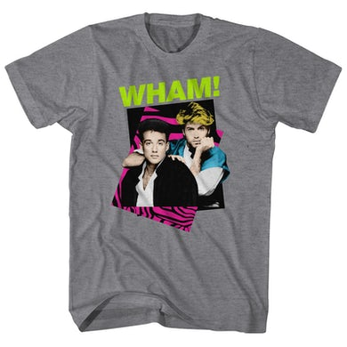 Wham! T-Shirt | Retro Neon Wham! Shirt