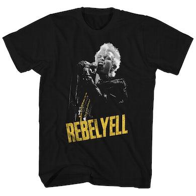 Billy Idol T-Shirt   Rebel Yell Billy Idol Shirt