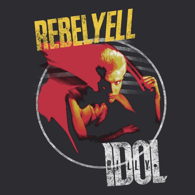 Billy Idol T-Shirt | Rebel Yell Album Art Billy Idol T-Shirt