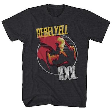 Billy Idol T-Shirt | Rebel Yell Album Art Billy Idol Shirt