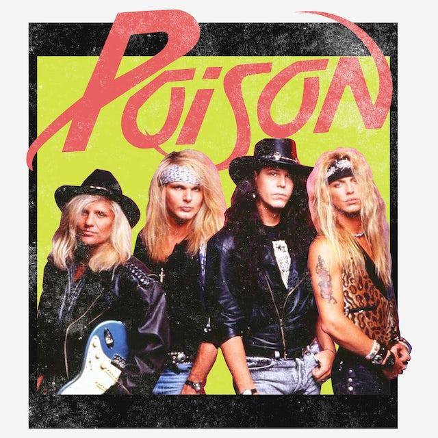 Poison T-Shirt | Classic Band Photo Poison T-Shirt