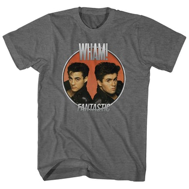 Wham! T-Shirt | Fantastic Album Art Wham! T-Shirt