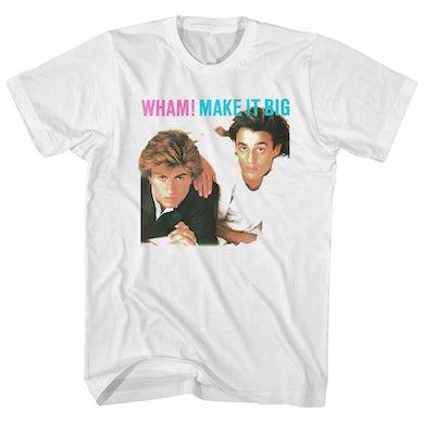 Wham! T-Shirt | Make It Big Album Art Wham! Shirt