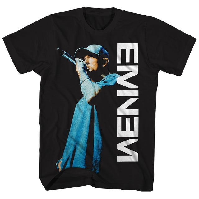 Eminem T-Shirt | Live On The Mic Eminem Shirt