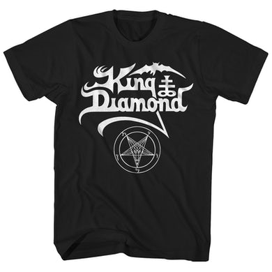 King Diamond T-Shirt | Official Logo King Diamond Shirt