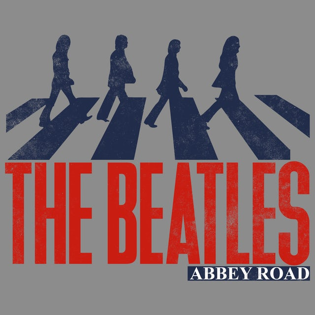 The Beatles T-Shirt | Abbey Road Silhouette The Beatles T-Shirt