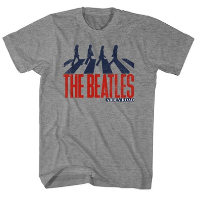 The Beatles T-Shirt | Abbey Road Silhouette The Beatles Shirt