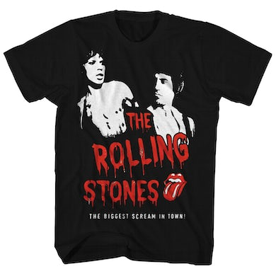 The Rolling Stones T-Shirt | Biggest Scream In Town The Rolling Stones T-Shirt