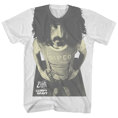 Frank Zappa T-Shirt | Lumpy Gravy Album Art Frank Zappa T-Shirt