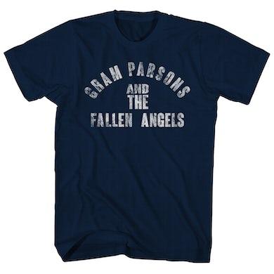 Gram Parsons T-Shirt | Fallen Angels Official Logo Gram Parsons T-Shirt