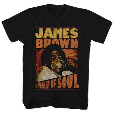 James Brown T-Shirt | Godfather Of Soul James Brown Shirt
