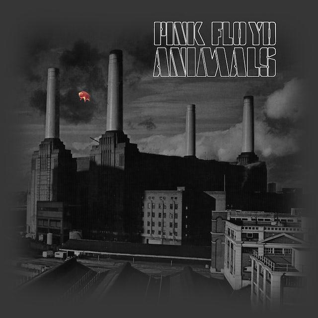 Pink Floyd T-Shirt   Animals Monotone Album Art Pink Floyd T-Shirt