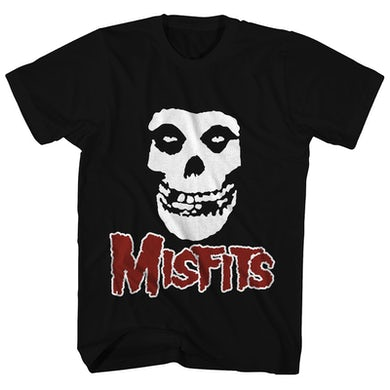 The Misfits T-Shirt | Classic Skull Logo Misfits T-Shirt