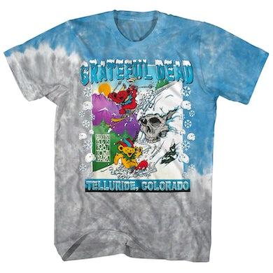 Grateful Dead T-Shirt | Telluride Avalanche Bears Tie Dye Grateful Dead Shirt (Reissue)