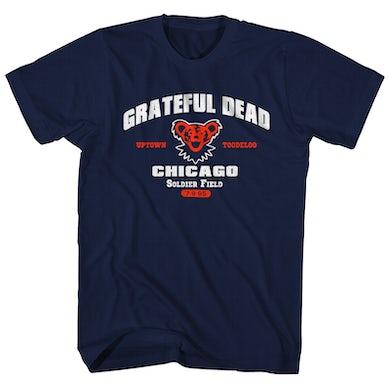 Grateful Dead T-Shirt | Chicago Bear Concert '95 T-Shirt (Reissue) Grateful Dead Shirt