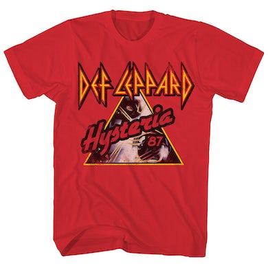 Def Leppard T-Shirt | Hysteria '87 Tour Def Leppard T-Shirt (Reissue)